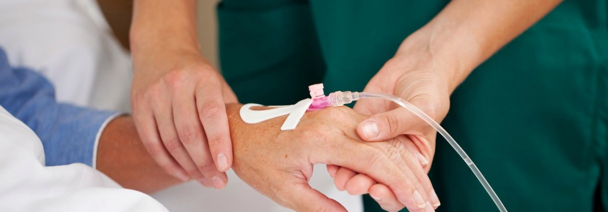 Медицинский контроль пациентов после лечения рака легких.